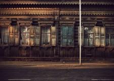 wodden window